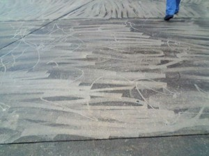 Bad Concrete Cleaning